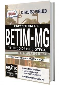 TÉCNICO DE BIBLIOTECA