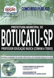 PROFESSOR EDUCAÇÃO BÁSICA (COMUM A TODOS)