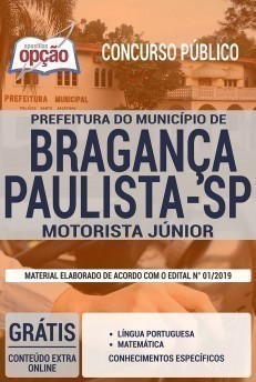 MOTORISTA JÚNIOR