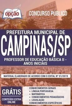PROFESSOR DE EDUCAÇÃO BÁSICA II - ANOS INICIAIS