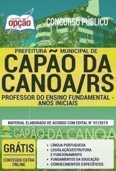 PROFESSOR DO ENSINO FUNDAMENTAL - ANOS INICIAIS