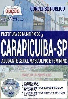 AJUDANTE GERAL MASCULINO E FEMININO
