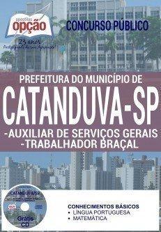AUXILIAR DE SERVIÇOS GERAIS / TRABALHADOR BRAÇAL