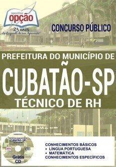 TÉCNICO DE RH PREFEITURA DE CUBATÃO