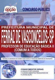 PROFESSOR DE EDUCAÇÃO BÁSICA II (COMUM A TODOS)