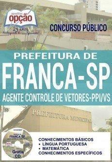 AGENTE DE CONTROLE DE VETORES - PPI/VS