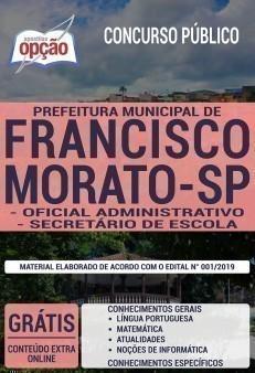 OFICIAL ADMINISTRATIVO E SECRETÁRIO DE ESCOLA