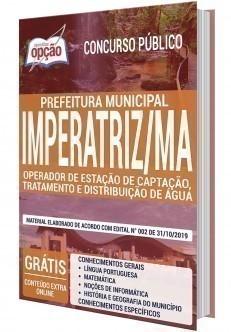 OPERADOR DE ESTAÇÃO DE CAPTAÇÃO, TRATAMENTO E DISTRIBUIÇÃO DE ÁGUA