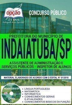 ASSISTENTE DE ADMINISTRAÇÃO E SERVIÇOS PÚBLICOS - INSPETOR DE ALUNOS