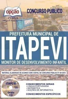 MONITOR DE DESENVOLVIMENTO INFANTIL