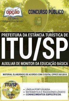 AUXILIAR DE MONITOR DA EDUCAÇÃO BÁSICA