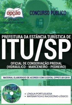 OFICIAL DE CONSERVAÇÃO PREDIAL (HIDRÁULICO, MARCENEIRO E PEDREIRO)