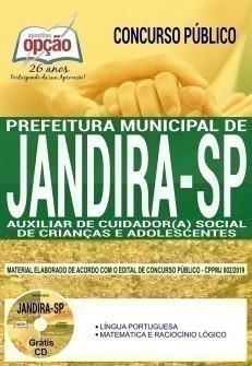 AUXILIAR DE CUIDADOR (A) SOCIAL DE CRIANÇAS E ADOLESCENTES