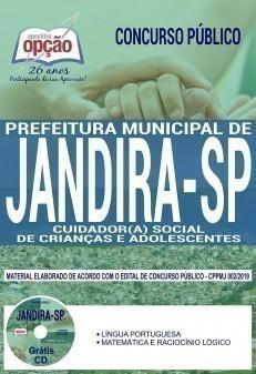 CUIDADOR (A) SOCIAL DE CRIANÇAS E ADOLESCENTES