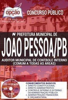 Apostila Concurso Prefeitura de João Pessoa 2017 | AUDITOR MUNICIPAL DE CONTROLE INTERNO (COMUM A TODAS AS ÁREAS)
