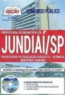 PROFESSOR DE EDUCAÇÃO BÁSICA II - QUÍMICA (MATÉRIA COMUM)