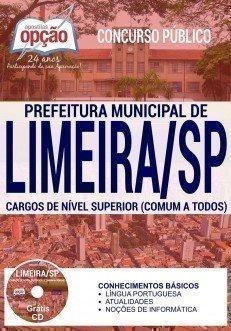 Apostila Prefeitura de Limeira para todos os CARGOS DE NÍVEL SUPERIOR (COMUM A TODOS)