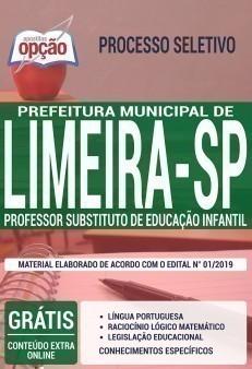 PROFESSOR SUBSTITUTO DE EDUCAÇÃO INFANTIL
