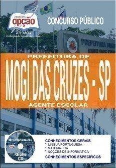 Apostila Concurso Prefeitura de Mogi das Cruzes 2018 | AGENTE ESCOLAR