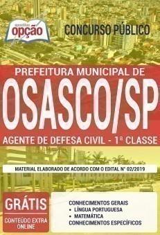 AGENTE DE DEFESA CIVIL - 1ª CLASSE