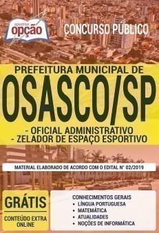 OFICIAL ADMINISTRATIVO E ZELADOR DE ESPAÇO ESPORTIVO