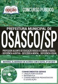 PROF. AD. DE ED. BÁSICA II - DEFICIÊNCIA AUDITIVA, MENTAL E VISUAL (COMUM A TODOS)