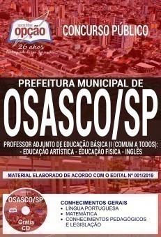 PROFESSOR AD. DE ED. BÁSICA II - ED. ARTÍSTICA, ED. FÍSICA, INGLÊS (COMUM A TODOS)