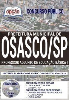 PROFESSOR ADJUNTO DE EDUCAÇÃO BÁSICA I