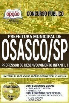 PROFESSOR DE DESENVOLVIMENTO INFANTIL I