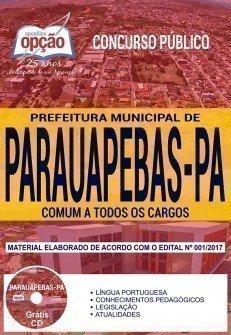 Apostila Concurso Prefeitura de Parauapebas 2018 - COMUM A TODOS OS CARGOS