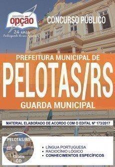 Apostila Concurso Prefeitura de Pelotas 2017 | GUARDA MUNICIPAL