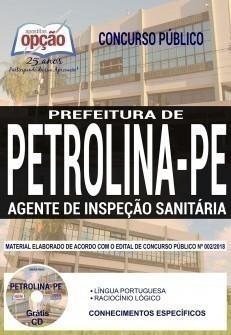 AGENTE DE INSPEÇÃO SANITÁRIA