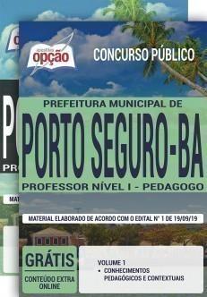 PROFESSOR NÍVEL I - PEDAGOGO