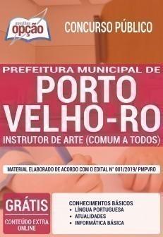 INSTRUTOR DE ARTE (CONTEÚDO COMUM A TODOS OS CARGOS)