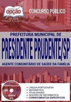 AGENTE COMUNITÁRIO DE SAÚDE DA FAMÍLIA