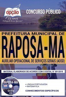 AUXILIAR OPERACIONAL DE SERVIÇOS DIVERSOS (AOSD)