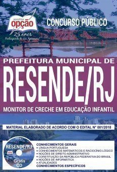 MONITOR DE CRECHE EM EDUCAÇÃO INFANTIL