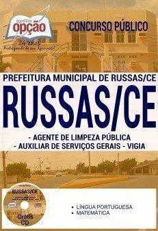 AGENTE DE LIMPEZA PÚBLICA / AUXILIAR DE SERVIÇOS GERAIS / VIGIA