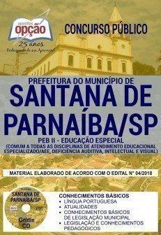 PEB II - EDUCAÇÃO ESPECIAL -  COMUM A TODOS OS CARGOS