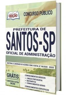 OFICIAL DE ADMINISTRAÇÃO