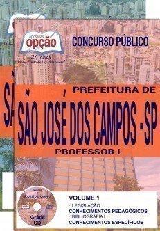 Apostila Concurso Prefeitura de São José dos Campos 2017 – PROFESSOR I