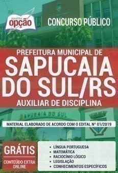 AUXILIAR DE DISCIPLINA