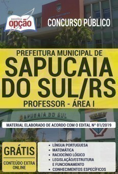 PROFESSOR - ÁREA I