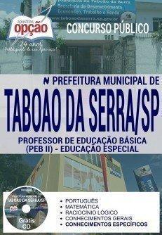 PROFESSOR DE EDUCAÇÃO BÁSICA II - EDUCAÇÃO ESPECIAL