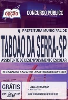 ASSISTENTE DE DESENVOLVIMENTO ESCOLAR