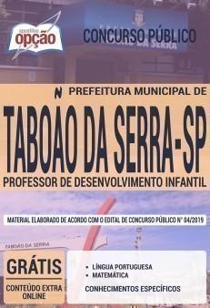 PROFESSOR DE DESENVOLVIMENTO INFANTIL