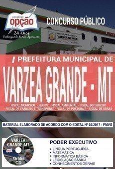 Apostila Concurso Prefeitura de Várzea Grande 2018 (Poder Executivo) | FISCAL MUNICIPAL