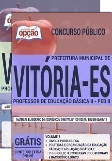 PROFESSOR DE EDUCAÇÃO BÁSICA II - PEB II