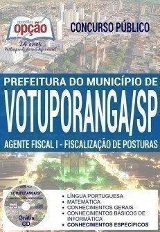 AGENTE FISCAL I - FISCALIZAÇÃO DE POSTURAS