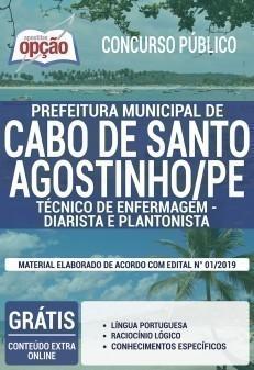 TÉCNICO DE ENFERMAGEM - DIARISTA E PLANTONISTA